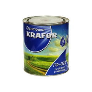 """ГРУНТ ГФ-021 СЕРЫЙ ( 1,8 КГ) """"KRAFOR"""""""