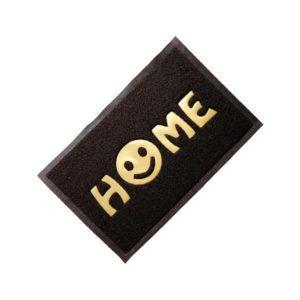 """КОВРИК придверный, пористый  40х60см """"Home"""" , коричневый VORTEX/20"""
