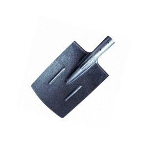 ЛОПАТА ШТЫКОВАЯ прямоугольная с черенком рельсовая сталь полотно 290*210 мм длина 1400 мм