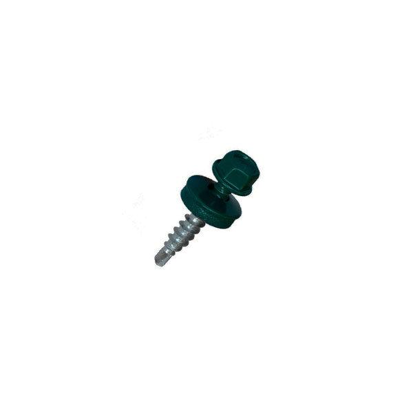 САМОРЕЗ КРОВЕЛЬНЫЙ  4,8х 35мм (темно-зеленый, зеленый)