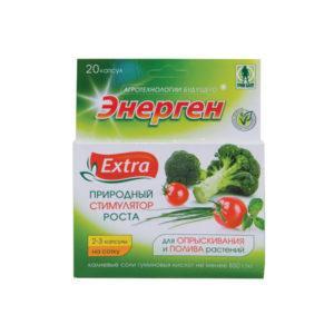 """СРЕДСТВО для полива и опрыскивания растений """"Энерген Extra"""" 10-капсул"""