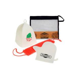 """Подарочный набор """"Добропаровъ"""",шапка """" Парься от души """" и мыло натуральное"""