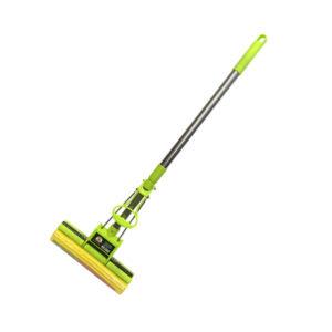 Швабра отжимная 1 рол телескоп алюм ручка 120см. зелен Эконом Умничка(Китай)