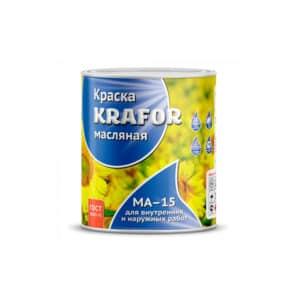 """КРАСКА МА-15 (7,0 КГ) БЕЖЕВАЯ """"KRAFOR"""""""