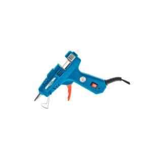 Пистолет клеевой 80Вт, 11мм, 12 г/мин, выключатель, метал.сопло, 2 стержня, блистер СОЮЗ (КПС-2481В)