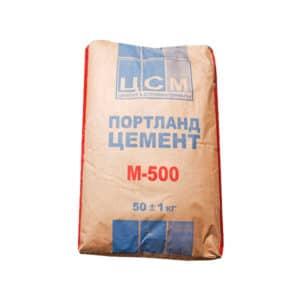 ЦЕМЕНТ М-500 (50,0 КГ)(Портланнд)
