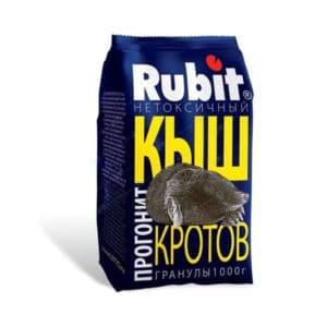 """СРЕДСТВО от кротов репеллент (гранулы) 1,0кг """"КЫШ Rubit"""""""