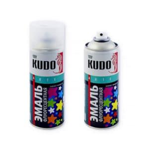 """КРАСКА АЭРОЗОЛЬ """"KUDO"""" флуоресцент 520мл в ассортименте"""