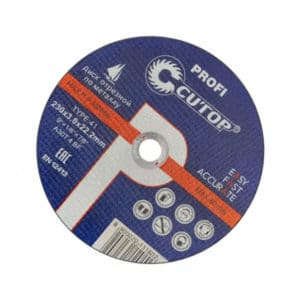 Проф. диск отрезной по металлу Cutop Profi T41-180х1,6х22,3мм