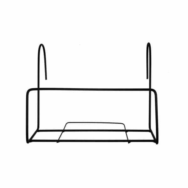 ДЕРЖАТЕЛЬ для балконного ящика 40см (черный)